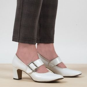Shoes - 1960's Mary Jane Heels